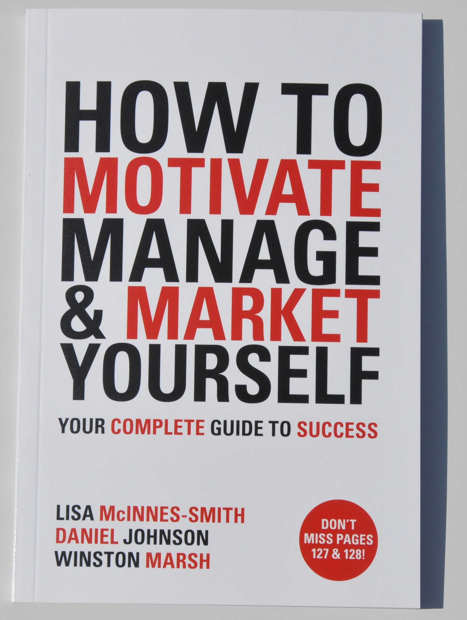 product how to motivate manage and market yourself